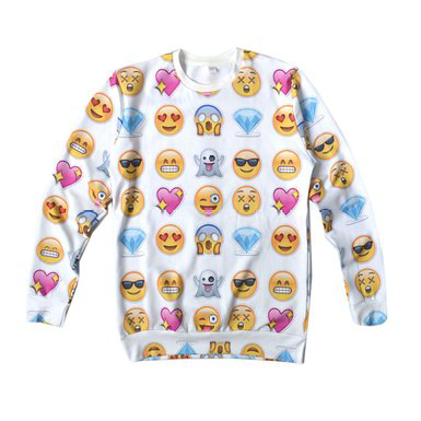 Clothing with Emoji Symbols